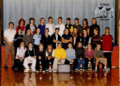 Arthur Meighen Public School Class Photo, Grade Eight
