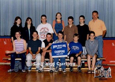 Arthur Meighen Public School Golf and Curling, 1999-2000
