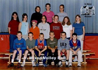 Arthur Meighen Public School Junior Mixed Volleyball, 2000-2001