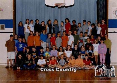 Arthur Meighen Public School Cross Country, 2000-2001