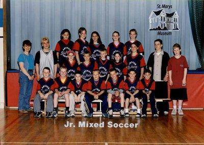 Arthur Meighen Public School Junior Mixed Soccer, 2000-2001
