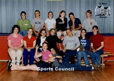 Arthur Meighen Public School Sports Council, 2000-2001