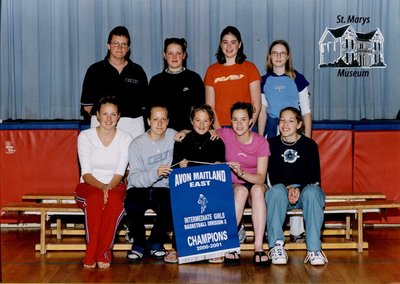 Arthur Meighen Public School Intermediate Girls Basketball, 2000-2001