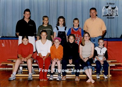 Arthur Meighen Public School Free Throw Team, 2001