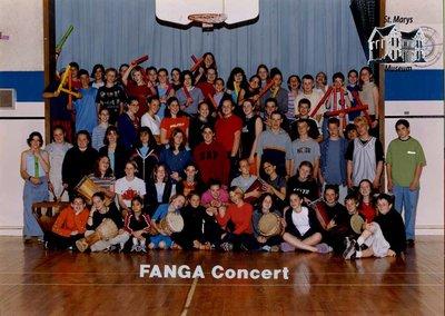Arthur Meighen Public School Fanga Concert, 2001