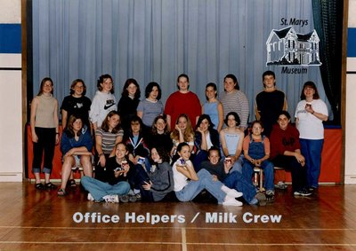 Arthur Meighen Public School Office Helpers / Milk Crew, 2000-2001