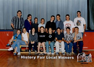 Arthur Meighen Public School History Fair Local Winners, 2001-2001