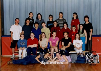 Arthur Meighen Public School Speeches, 2000-2001