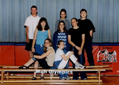 Arthur Meighen Public School Math Olympics, 2000-2001
