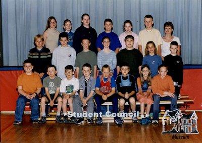 Arthur Meighen Public School Student Council, 2000-2001