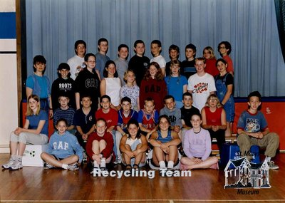 Arthur Meighen Public School Recycling Team, 2000-2001