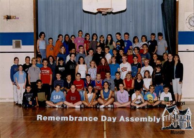 Arthur Meighen Public School Remembrance Day Assembly