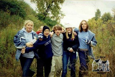 Arthur Meighen Public School Students at Camp Celtic