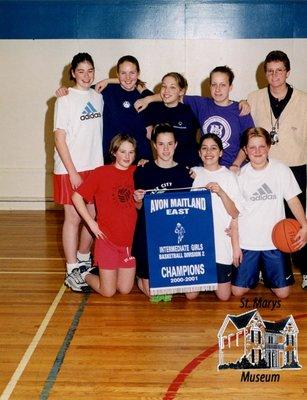 Arthur Meighen Public School Intermediate Girls Basketball, 2000-2001