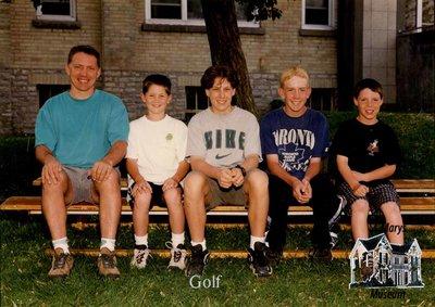 Arthur Meighen Public School Golf, 2000-2001