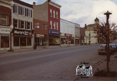 North Side of Queen in the Late 1970s