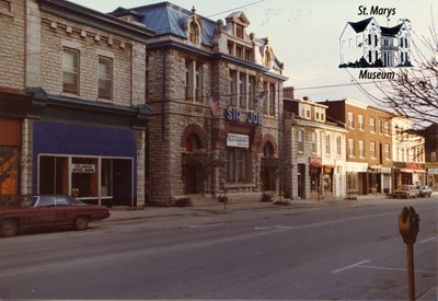 East Side of Water Street in the Late 1970s