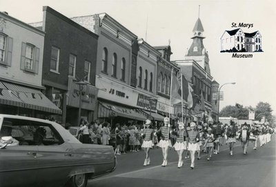 Downtown St. Marys During a Parade