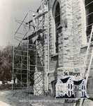 Construction at the Presbyterian Church