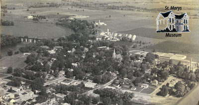 Aerial View of St. Marys