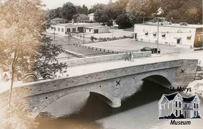 Church Street Bridge From Above, 1979