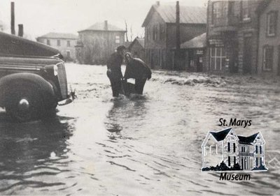 Flood of 1947 on Water Street