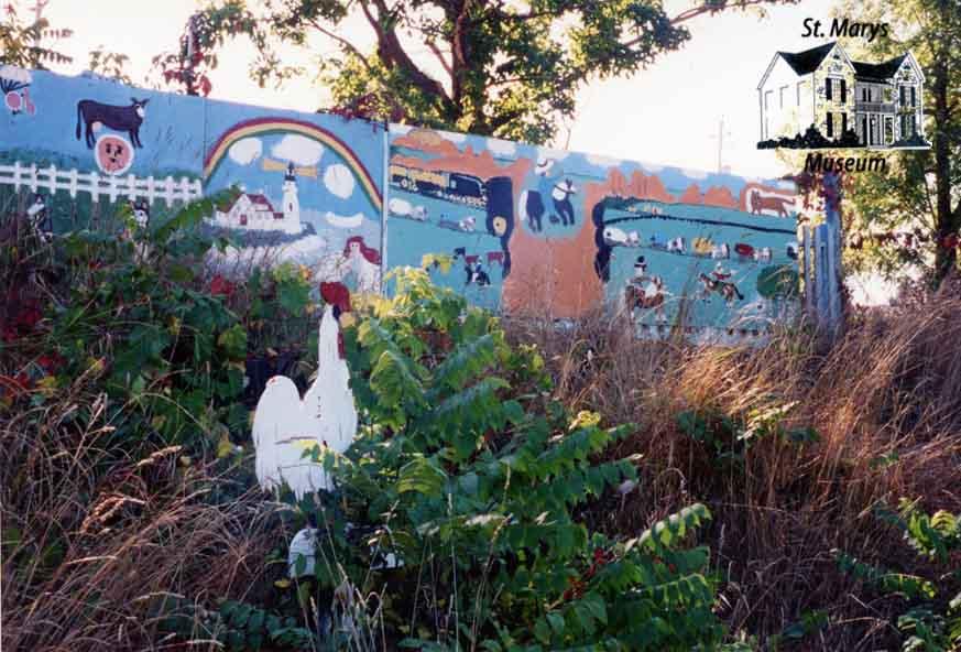 Yard with Art at 320 Church Street South