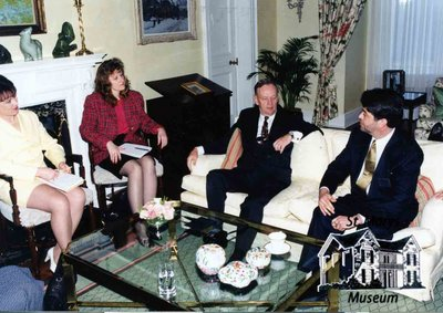 R. Lorne Eedy's Meeting with Jean Chrétien