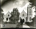 View of St. James Anglican Church and the Parish Hall