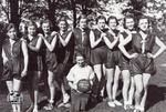 St. Marys C.I. Junior Girls Basketball Team