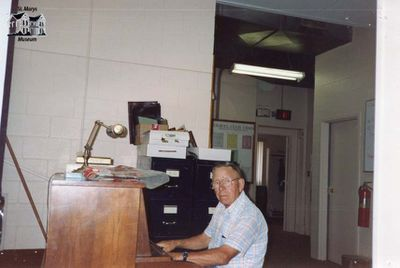 George Harris Playing Piano