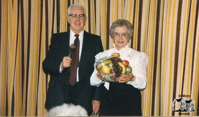 Rev. Ross Crosby and Ethel Stephen