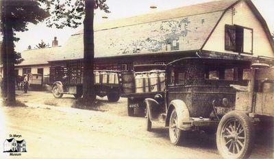 Herb Sparling Dairy Trucks