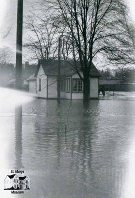 St. Marys House in Flood