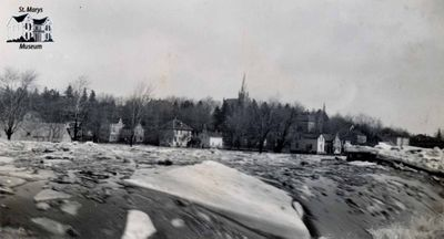 The Falls in February, 1930