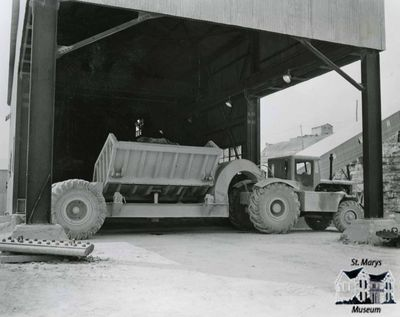 Side Dumper at St. Marys Cement Plant