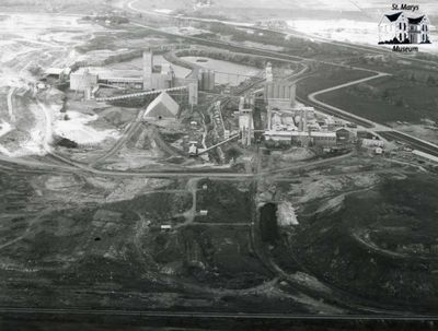 St. Marys Cement Plant Aerial View