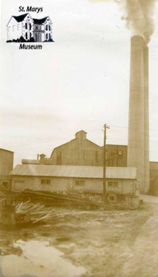 St. Marys Cement Kiln Stacks