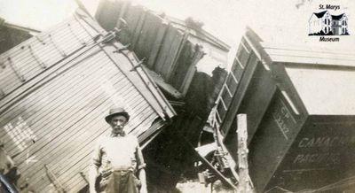 Joseph Alberts at Train Wreck