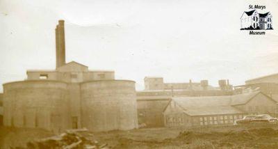 Slurry Silo at St. Marys Cement Plant