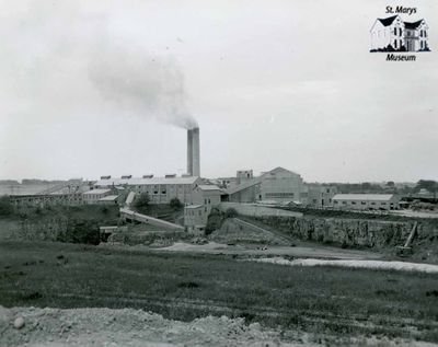 St. Marys Cement Plant Quarry and Plant