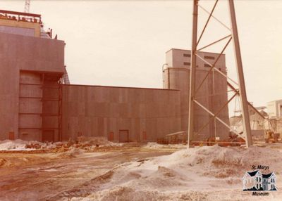 Raw Mill Building at St. Marys Cement Plant