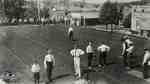 Downtown bowling lawns, ca. 1910