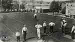Downtown bowling lawns, ca. 1910