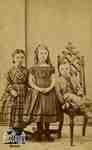 Julia Ford, Essie Cruttenden, Leon Ford, ca. 1861