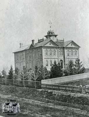 St. Marys Collegiate Institute, 1886
