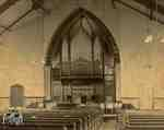 Interior of the First Presbyterian Church, ca. 1920
