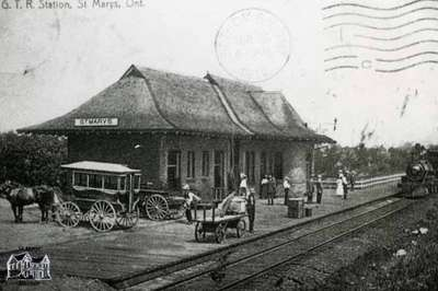 G.T.R. Station, ca. 1908