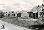 Wartime housing on Elgin Street East, ca. 1950