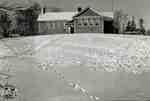 West Ward school in the winter
